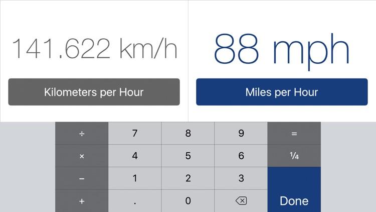 Converter for iPad (units and currencies) screenshot-4