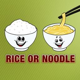 Rice or Noodle - VA