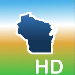 Aqua Map Wisconsin Lakes GPS +