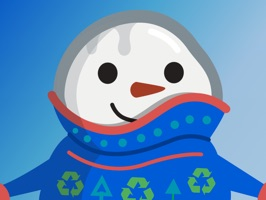 Cool Effect Snowman Stickers