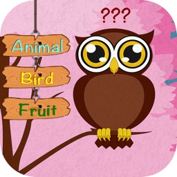 First Words Animals and Fruits