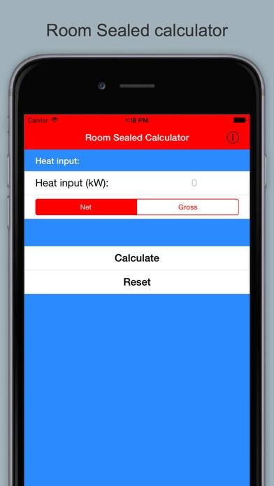 Gas Ventilation Calculator UK screenshot three