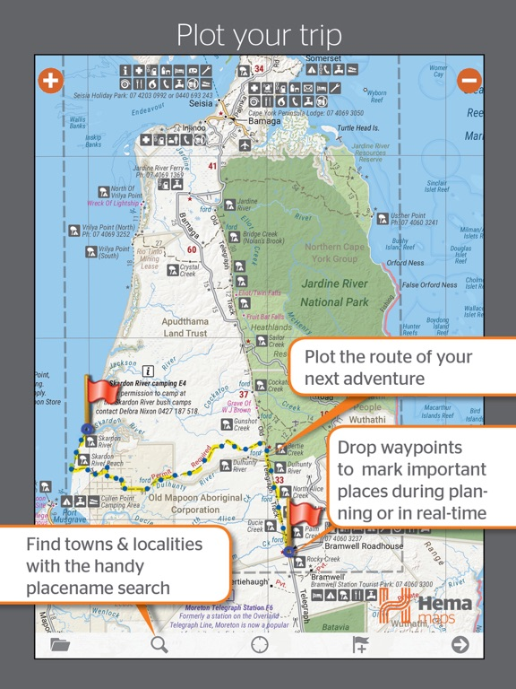 4WD Maps   Hema Australia Offline Topo Maps   App Price Drops