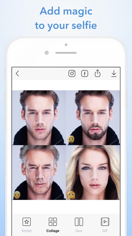 FaceApp: Neural Face Magic screenshot-0