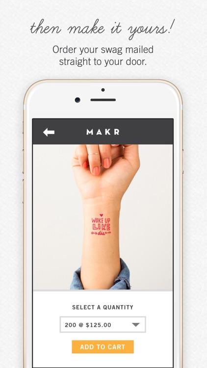 Makr: Custom Design & Logos screenshot-4