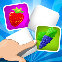 ABC 游戏的内存为孩子 - 了解 水果和蔬菜