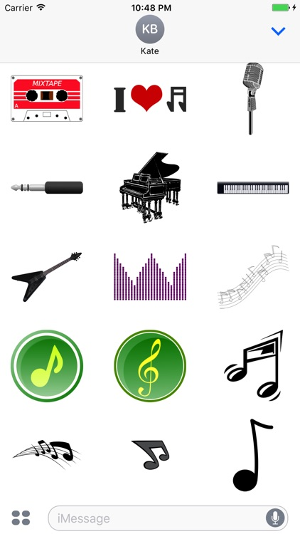 Musical Stickers