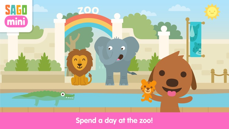 Sago Mini Zoo screenshot-0