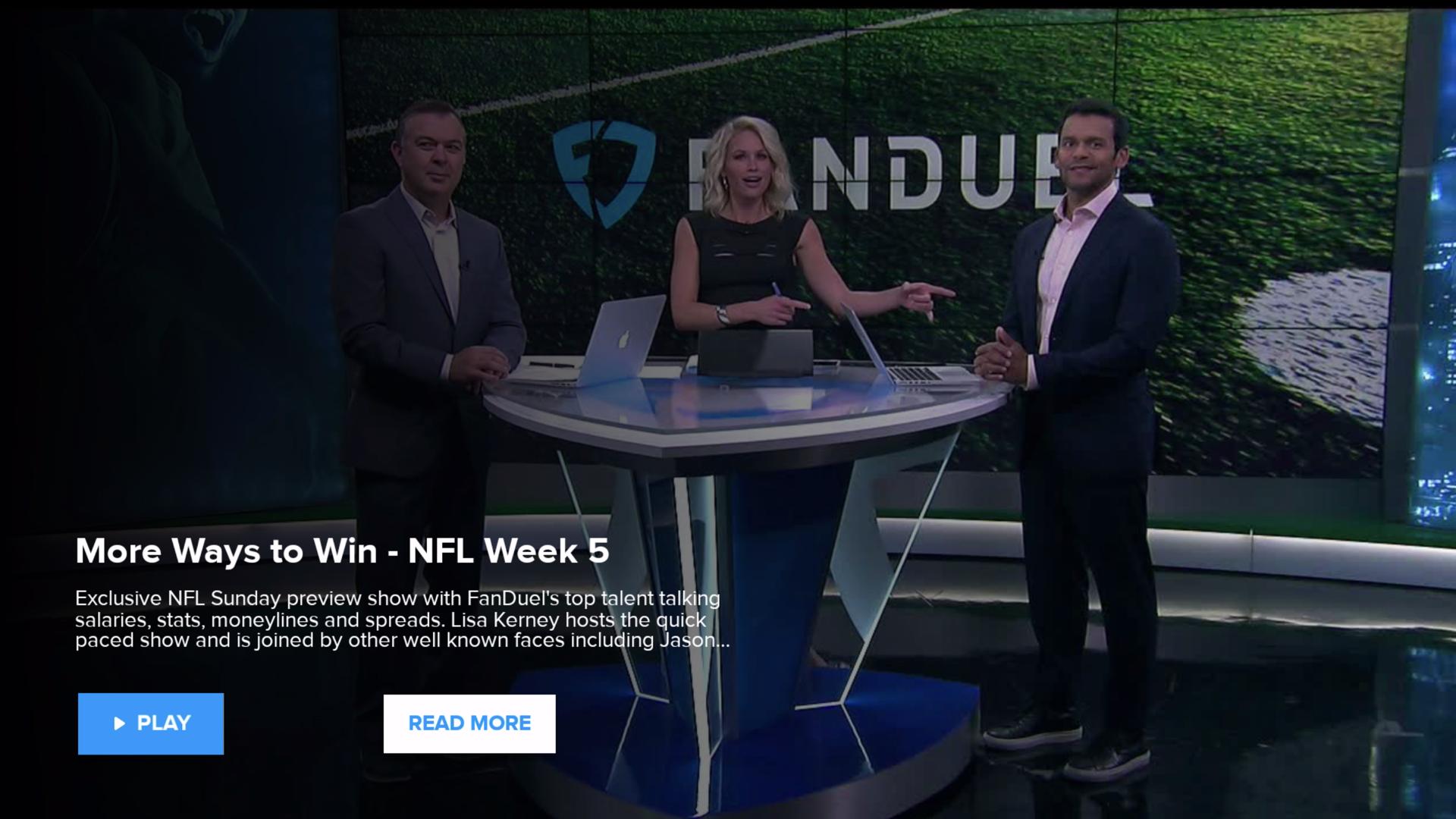 FanDuel TV screenshot 4