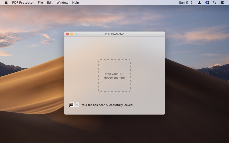 PDF Protector Screenshots