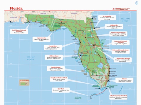 Florida Travel Guide Map.Florida Travel Guide By Lonely Planet On Apple Books