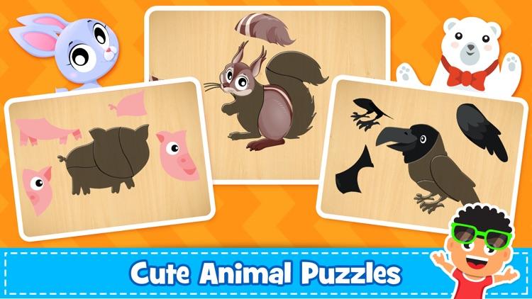 Kids Puzzle & Toddlers Games screenshot-3