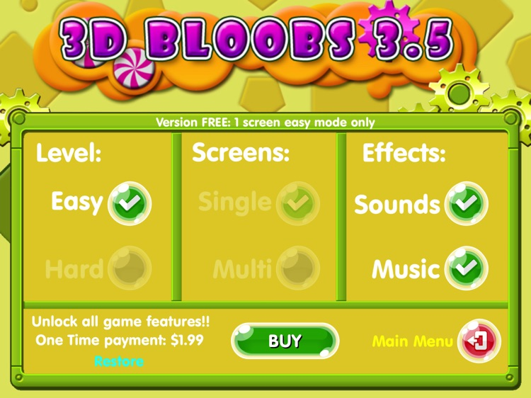 Bloobs for iPad