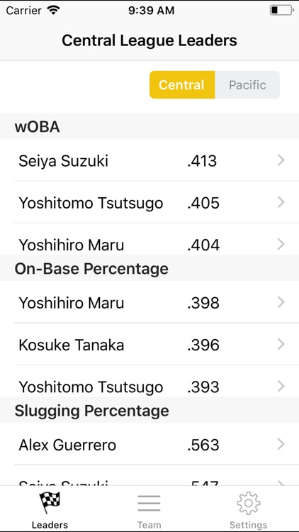 NPB Stats And Info screenshot-0