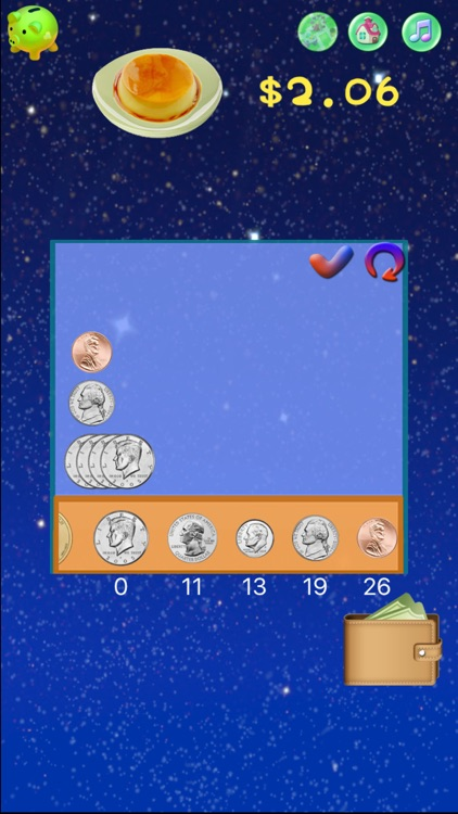 Coins Counting:Elementary Math