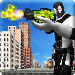 Fidget Shooter Gangster Battle