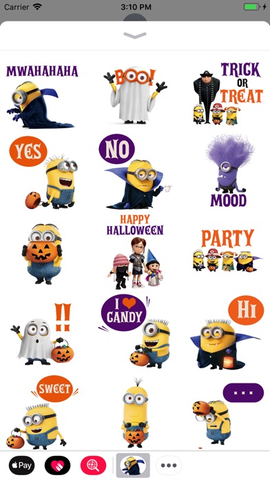 Despicable Me Halloween screenshot 1