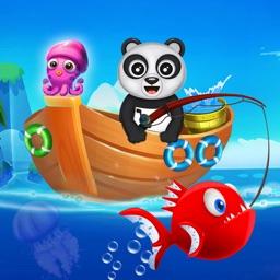 Fisher Panda Best Fishing Game