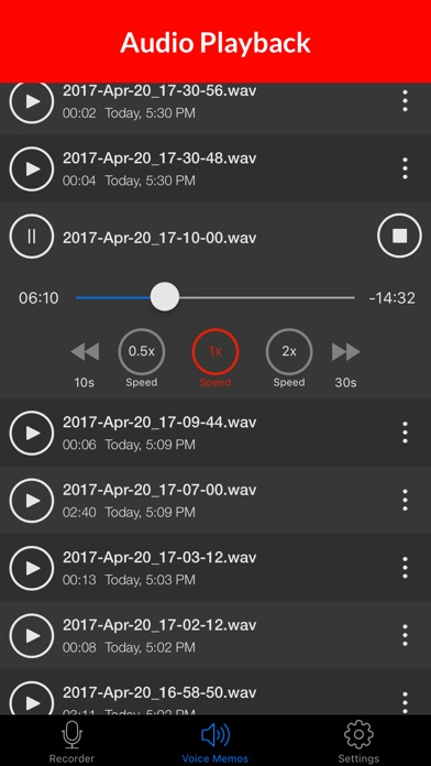Voice Recorder & Audio Memos Preview 1