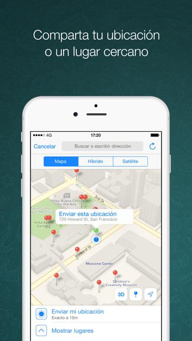 Screenshot for WhatsApp Messenger in Spain App Store