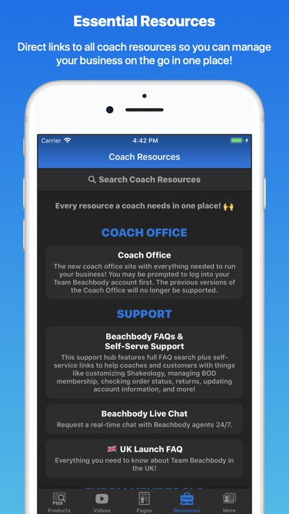 BB Links - Your Coaching Links screenshot-3