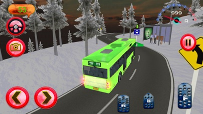 Hill Bus Driver 3d 2017 Mania screenshot 1