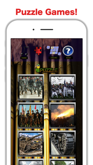 Fun Army Games: Sound & Puzzle screenshot two