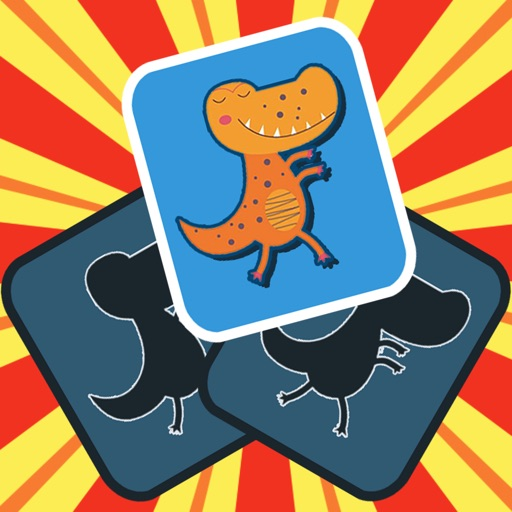 Dinosaur Picture Matching free software for iPhone and iPad