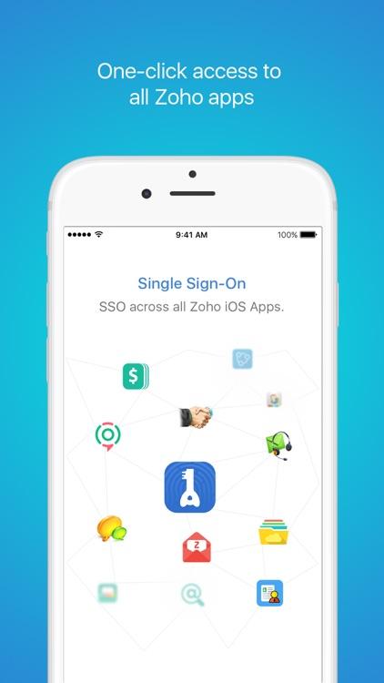 Zoho OneAuth screenshot-0