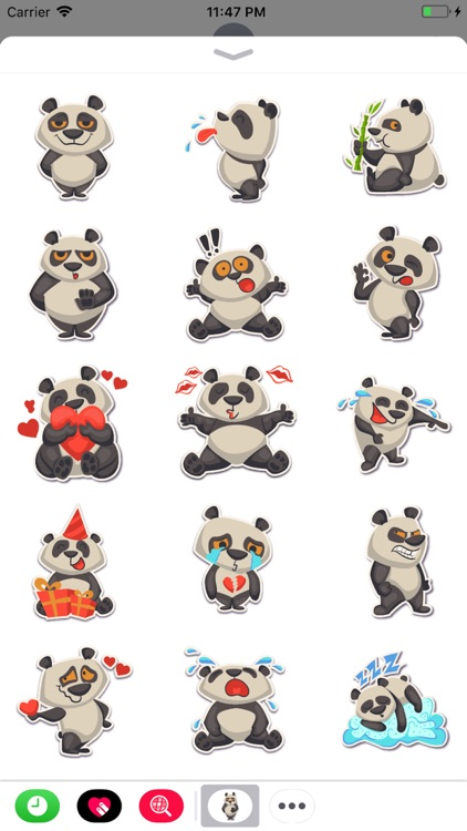 Panda - Stickers for iMessage.