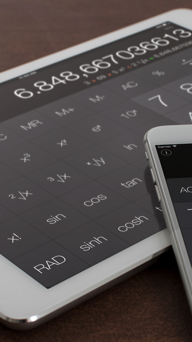 Calculator Air - Math Calc screenshot 1