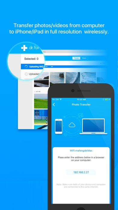 Download dr.fone - Photo Transfer for Pc