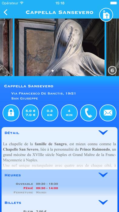 Screenshot #1 pour Naples Tour Lite