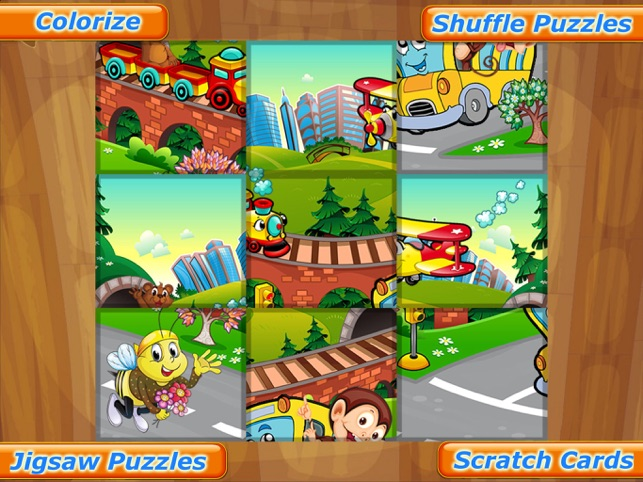 Animal Car Games: Cute Puzzles for Kids & Toddlers Screenshot