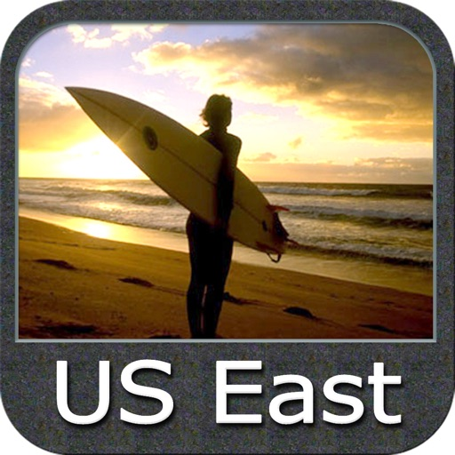 US East from Texas to Maine GPS charts navigator