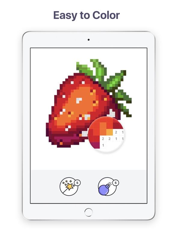 Pixel Art - Color by Number screenshot 8
