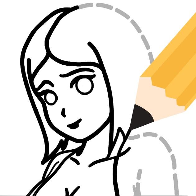 apprendre a dessiner manga dans l app store. Black Bedroom Furniture Sets. Home Design Ideas