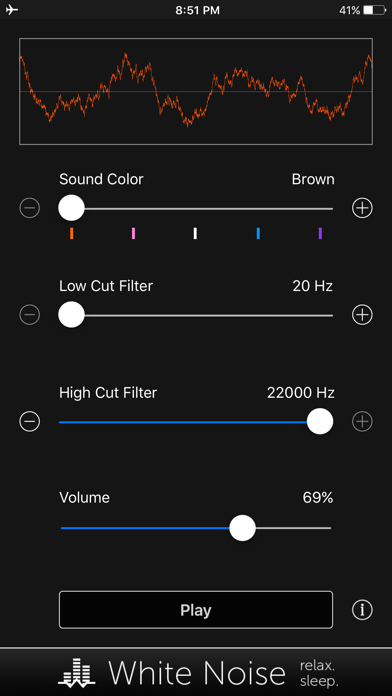 Noise Generator: Full Spectrum screenshot 1