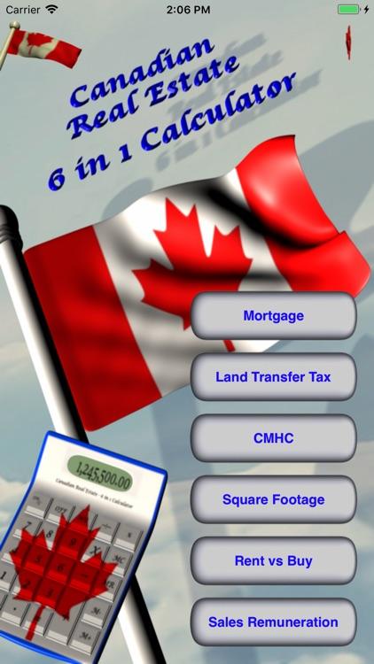 6 in 1 Real Estate Calculator screenshot-0