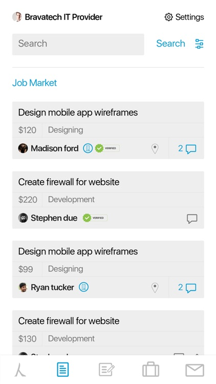 Bravatech RMS Freelancing App screenshot-4