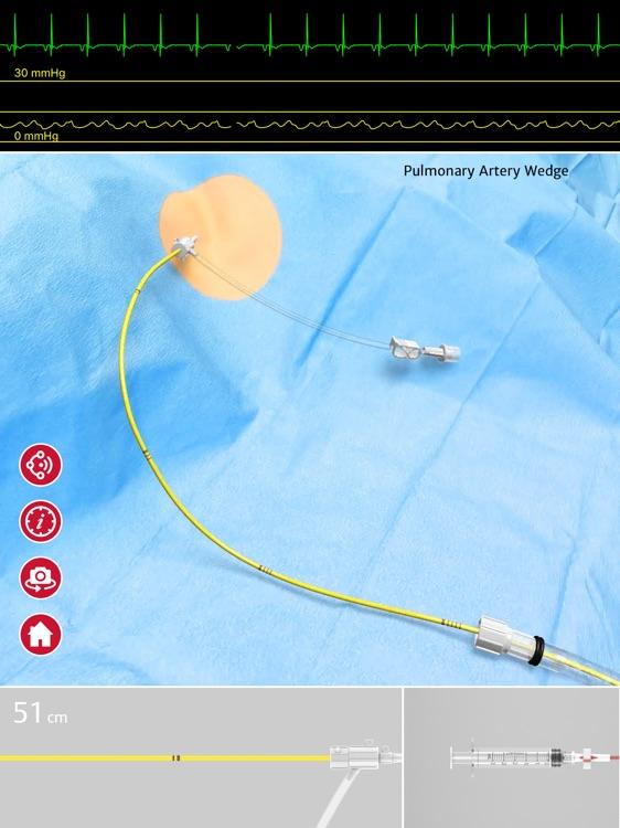 Swan-Ganz Simulation App