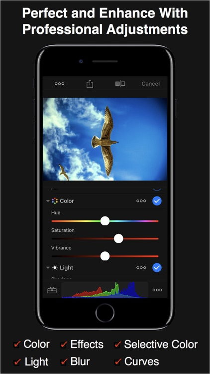 HayPhoto Photo Editor screenshot-0