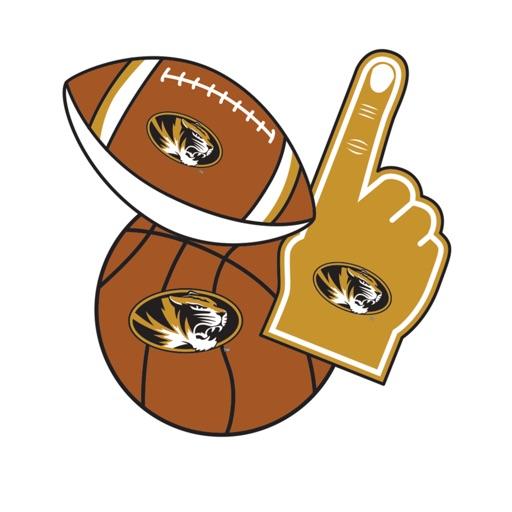 Missouri Tigers Selfie Stickers