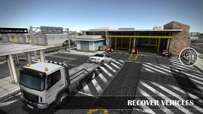 Drive Sim-ulator 3D 2016 Screenshot
