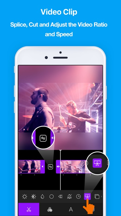 LIKE -Text & Music Video Maker screenshot-3