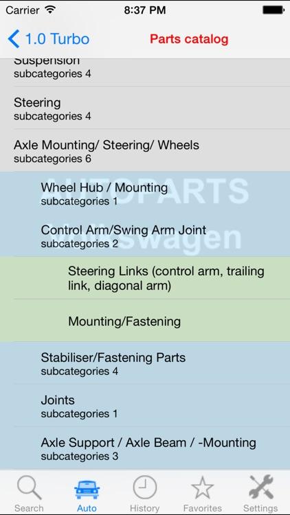 Autoparts for Volkswagen screenshot-3