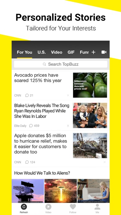 download TopBuzz - Viral Videos & News apps 4