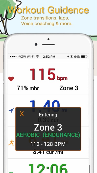 iBiker Cycling & Heart Trainer screenshot four