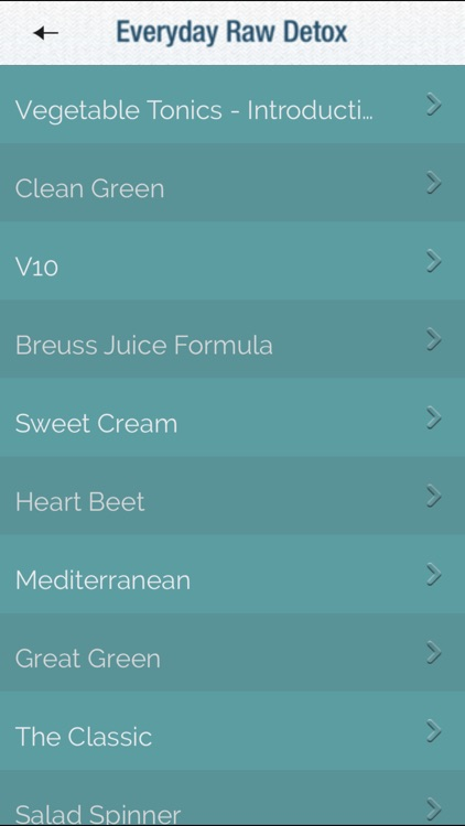 Everyday Raw Detox screenshot-3