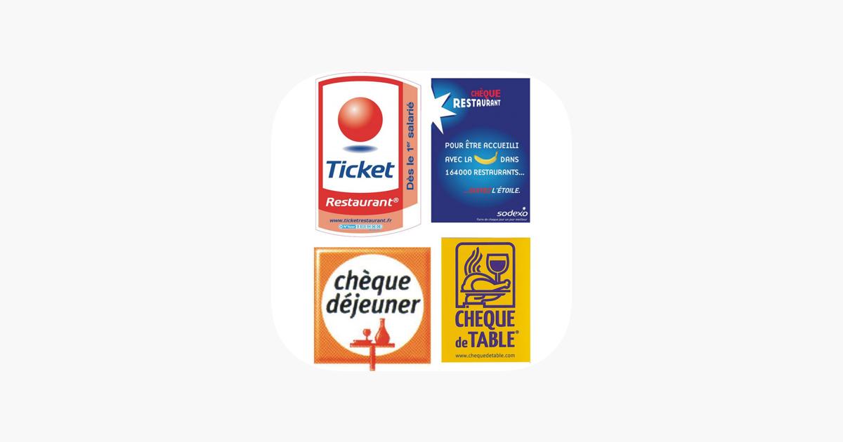 Tickets Restau Dans L App Store